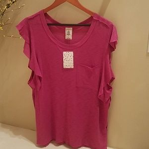 Free People So Easy Tee, NWT